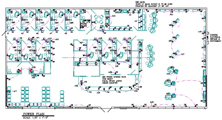 electrical blueprint